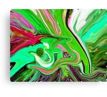 al rehman abstract painting Canvas Print