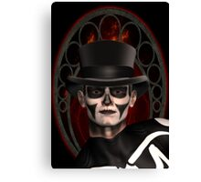 The Face Of Death Canvas Print