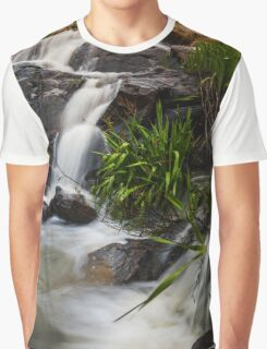 A waterfall without a name Graphic T-Shirt