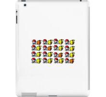 8-Bit Ash and Pikachu iPad Case/Skin