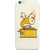 Phonograph and the Bird iPhone Case/Skin