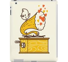 Phonograph and the Bird iPad Case/Skin