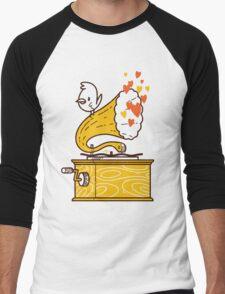 Phonograph and the Bird Men's Baseball ¾ T-Shirt