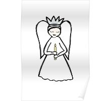 Angel Candle Poster