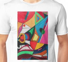 Fruit box Art - geometric abstract no 2 of 4 Unisex T-Shirt