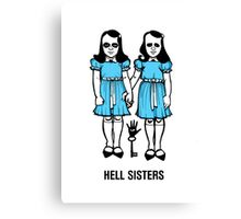 Hell Sisters Canvas Print