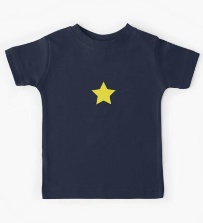 Yellow Star Dress Kids Tee
