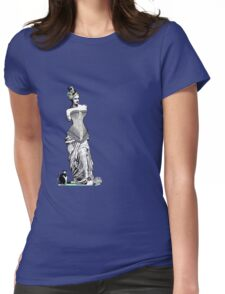 Goddess of love in corset Womens Fitted T-Shirt