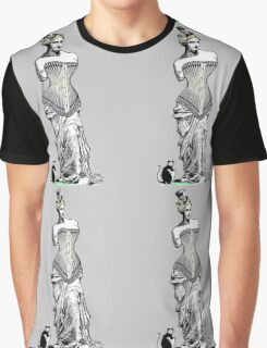Goddess of love in corset Graphic T-Shirt