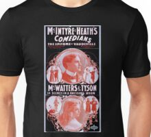 Performing Arts Posters McIntyre and Heaths Comedians the epitome of vaudeville 1937 Unisex T-Shirt