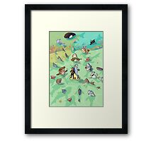 Funny Point of View -Sean Lock Framed Print