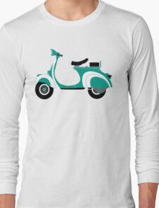 Green vespa Long Sleeve T-Shirt