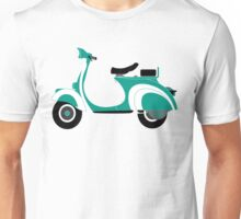 Green vespa Unisex T-Shirt