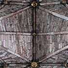 Worcester Cathedral ceiling by Tony Reed