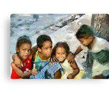 The Fab Four, Cuba Canvas Print