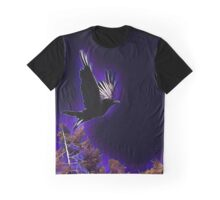 Raven over the Mesa Graphic T-Shirt
