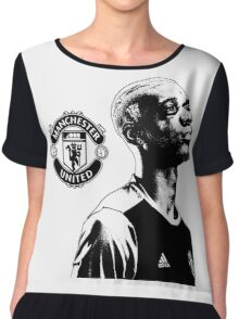 Paul Pogba - Manchester United Chiffon Top