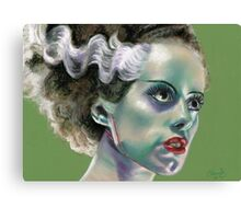 The Bride of Frankenstein Canvas Print
