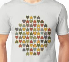 October Double Hearts in a Diamond Unisex T-Shirt