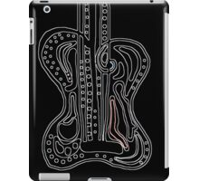 Abstract guitar iPad Case/Skin
