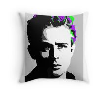 Jimmy Dean punked Throw Pillow