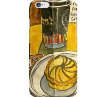 long black with citrus tart iPhone Case/Skin