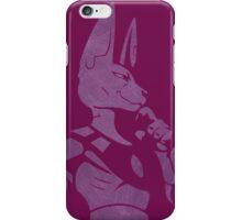 God Of delicious Destruction Minimalist iPhone Case/Skin