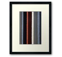 Parallel colours, Trinidad, Cuba Framed Print