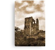 Corfe Castle, Dorset, UK  Canvas Print