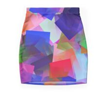 Cubes Mini Skirt