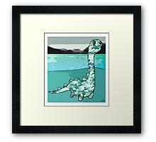 Nessie Framed Print