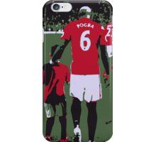 Paul Pogba The Return iPhone Case/Skin