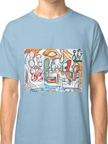 Abstract surreal Nativity Classic T-Shirt