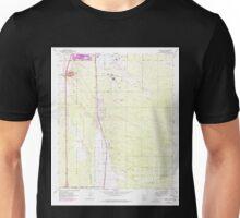 USGS TOPO Map Arizona AZ Tucson SW 313843 1968 24000 Unisex T-Shirt