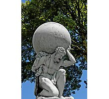 Statue of Hercules, Portmeirion, Wales, UK Photographic Print