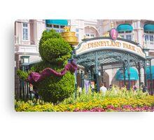 Disneyland Paris 20th Anniversary Entrance Decor Metal Print