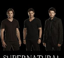Supernatural - Jared, Jensen & Misha by millwhy