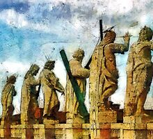 Protectors of the faith, Rome, Italy by buttonpresser
