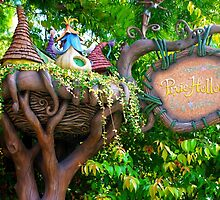 Pixie Hollow Sign by ThatDisneyLover