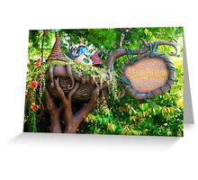 Pixie Hollow Sign Greeting Card