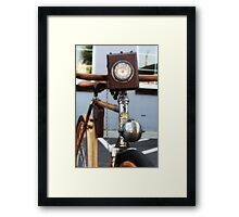 1898 Cycles  Framed Print