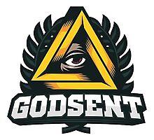 Godsent Logo (CSGO PRO TEAM) Photographic Print