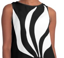 Black and white Contrast Tank
