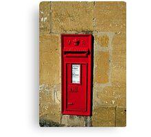 Victorian postbox Canvas Print