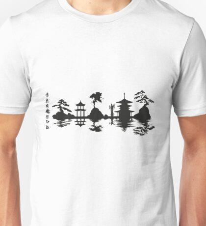 Asian Landscape Unisex T-Shirt