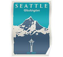 Seattle Washington. Poster