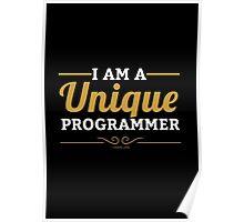 programmer : i am a unique programmer Poster