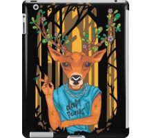 Frida Kahlo Deer parody daft punk  iPad Case/Skin