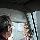 HItching a ride, Gibraltar by buttonpresser