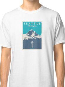 Seattle Washington. Classic T-Shirt